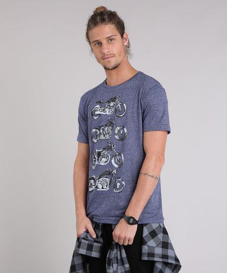Camiseta-Masculina--Cafe-Racer--Manga-Curta-Gola-Careca-Azul-Marinho-9223809-Azul_Marinho_1