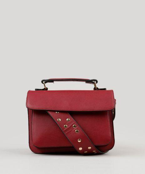 Bolsa-Feminina-Transversal-com-Tachas-na-Alca-Fixa-Vermelha-9050534-Vermelho_1