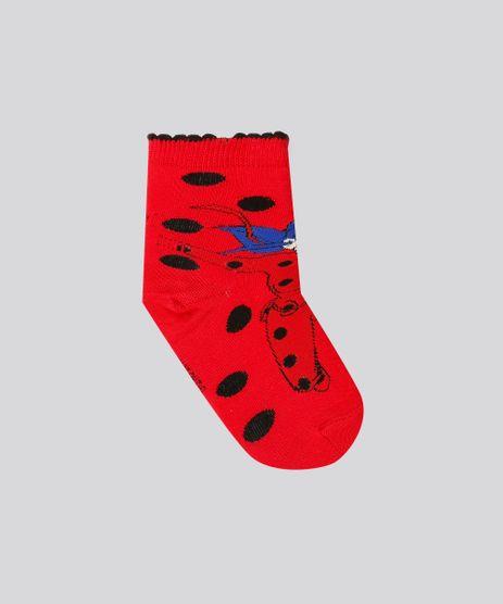 Meia-Infantil-Lupo-Ladybug-Miraculous-Cano-Medio-Vermelha-9197653-Vermelho_1