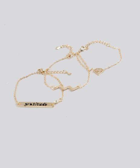 Kit-de-3-Pulseiras-Femininas-Dourada-9160672-Dourado_1