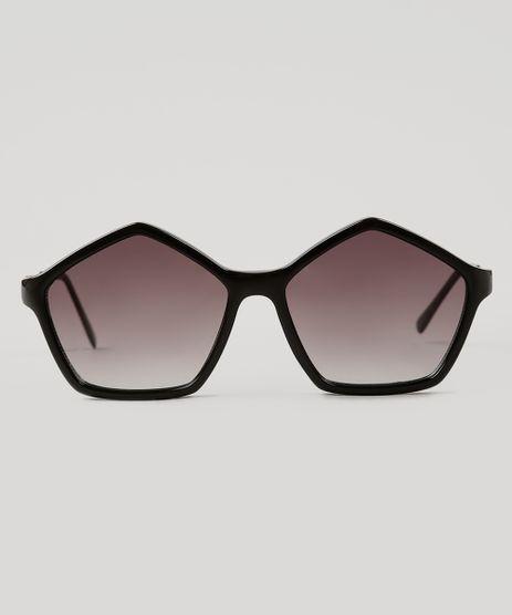 f52708c20aa6e Oculos-de-Sol-Geometrico-Feminino-Oneself-Preto-8354362-