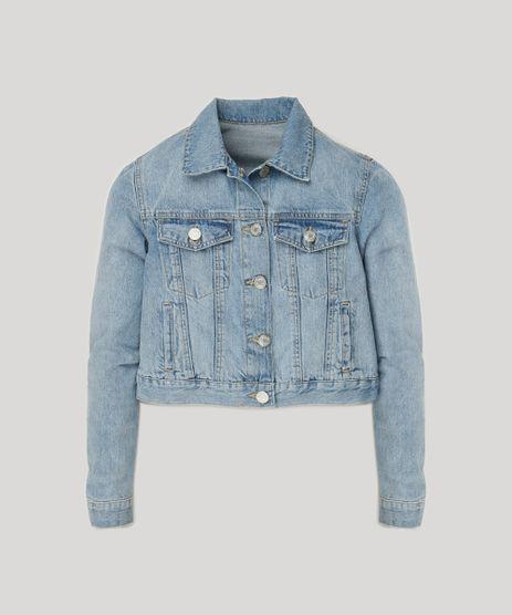 Jaqueta-Jeans-Feminina-Cropped-com-Bolsos-Azul-Claro-9264228-Azul_Claro_2
