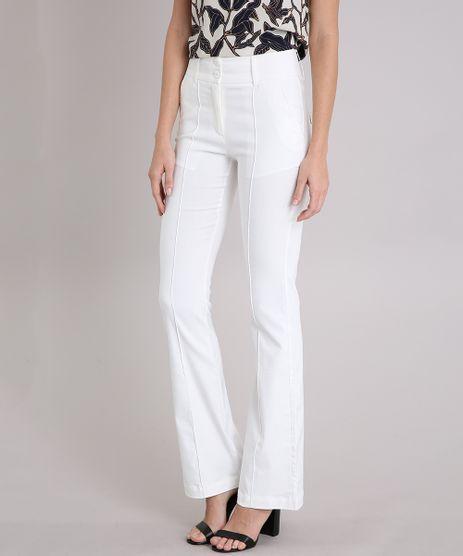 Calca-Feminina-Flare-com-Bolsos-Off-White-9081601-Off_White_1