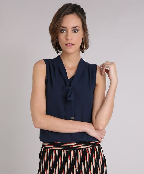 Regata-Feminina-com-Gola-Laco--Azul-Marinho-9109651-Azul_Marinho_1