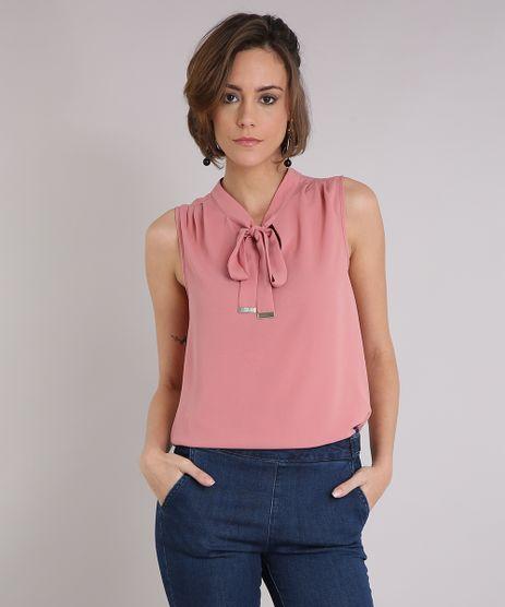 Regata-Feminina-com-Gola-Laco--Rose-9109651-Rose_1