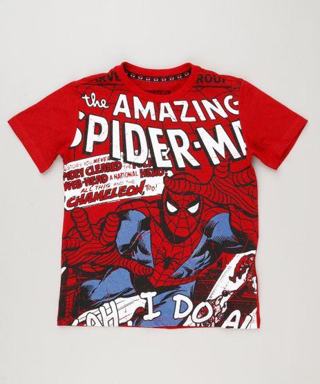 Camiseta-Infantil-Homem-Aranha-Manga-Curta-Gola-Careca-Vermelha-9219305-Vermelho_1