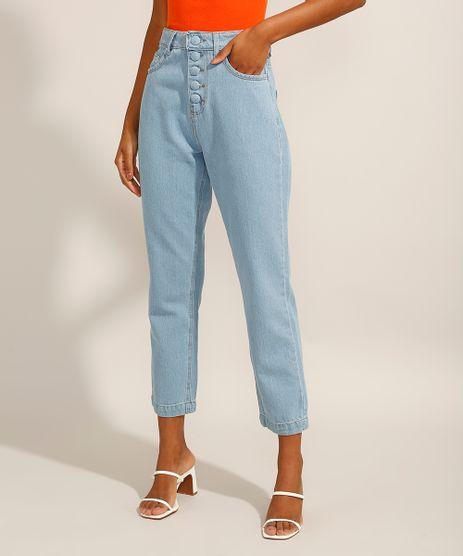 Calca-Reta-Jeans-Cintura-Super-Alta-Azul-Claro-9991281-Azul_Claro_1