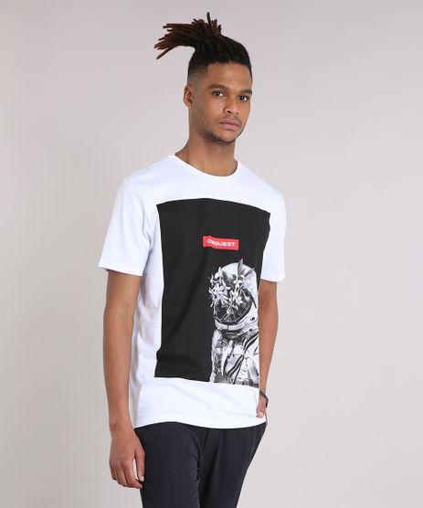 Camiseta-Masculina-Astronauta-Manga-Curta-Gola-Careca-em-Algodao---Sustentavel-Branca-9247405-Branco_1