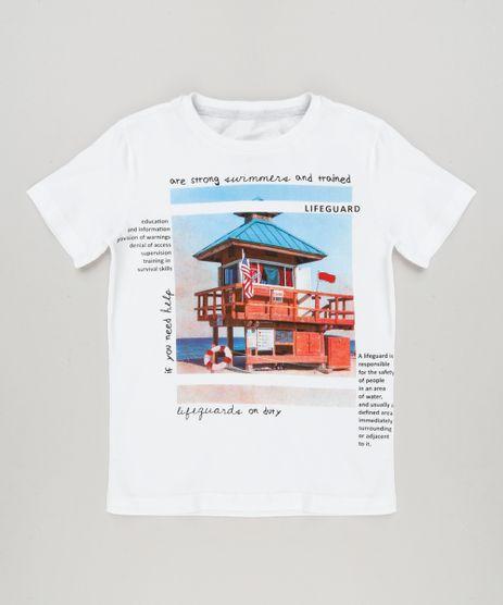 Camiseta-Infantil--Salva-Vidas--Manga-Curta-Gola-Careca-em-Algodao---Sustentavel-Off-White-9227800-Off_White_1