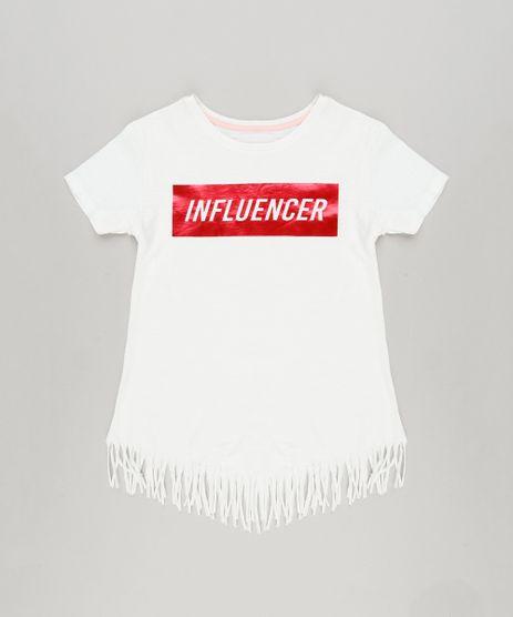 Blusa-Infantil--Influencer--com-Franjas-Manga-Curta-Decote-Redondo-em-Algodao---Sustentavel-Off-White-9220313-Off_White_1