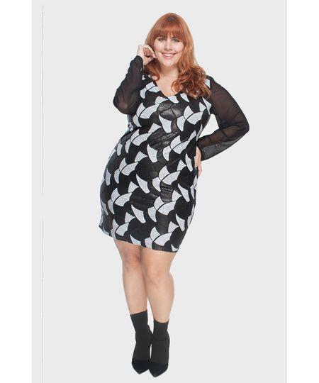 e9be0151f1 Menor preço em Vestido Paête Plus Size