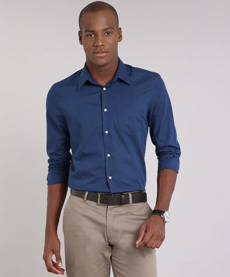 Camisa-Masculina-Slim-Listrada-Manga-Longa-Azul-Marinho-9050783-Azul_Marinho_1