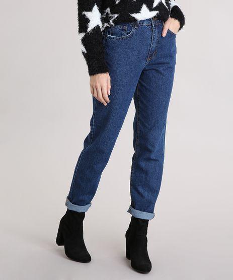 Calca-Jeans-Feminina-Mom--Azul-Escura-9204361-Azul_Escura_1