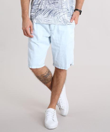 Bermuda-Jeans-Masculina-com-Cordao-e-Bolsos-Azul-Claro-9117594-Azul_Claro_1