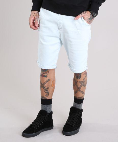 Bermuda-Jeans-Masculina-Reta-com-Cordao-Azul-Claro-8766359-Azul_Claro_1