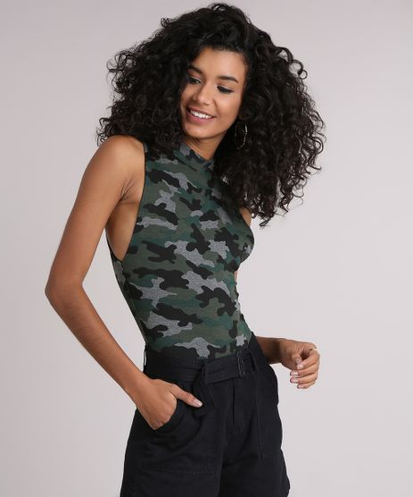 Body-Feminino-Regata-Estampado-Camuflado-Gola-Alta-Verde-Militar-9194152-Verde_Militar_1
