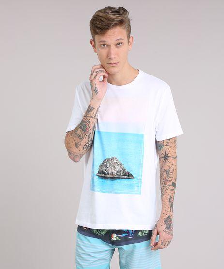 Camiseta-Masculina-com-Estampa-de-Ilha-Manga-Curta-Gola-Careca-Off-White-9079783-Off_White_1