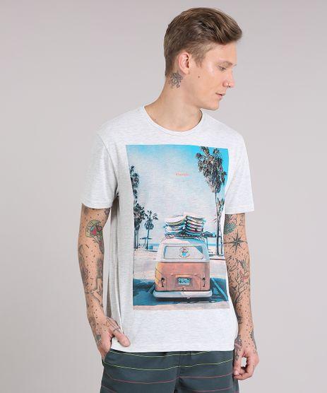 Camiseta-Masculina---Vanlife---Manga-Curta-Gola-Careca-Cinza-Mescla-Claro-9079782-Cinza_Mescla_Claro_1