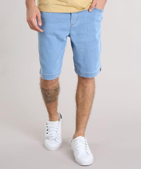 Bermuda-Jeans-Masculina-com-Cordao-e-Bolsos-Azul-Claro-9140300-Azul_Claro_1