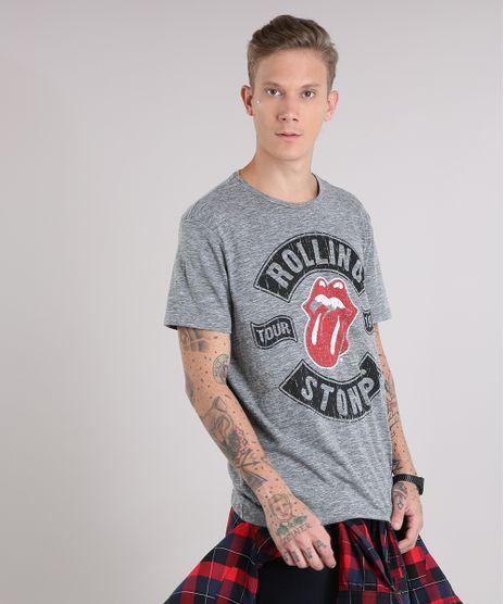 Camiseta-Masculina-Rolling-Stones-Manga-Curta-Gola-Careca-Cinza-Mescla-9153479-Cinza_Mescla_1