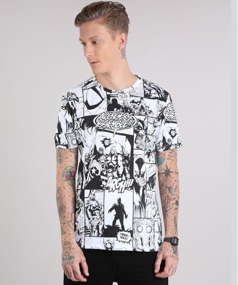 Camiseta-Masculina-Estampada-Os-Vingadores-Quadrinhos-Manga-Curta-Gola-Careca-Branca-9127302-Branco_1