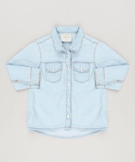 Camisa-Jeans-Infantil-com-Bolsos-Manga-Longa-Azul-Claro-9170300-Azul_Claro_1