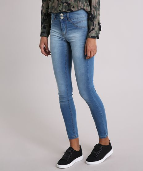 Calca-Jeans-Feminina-Super-Skinny-Pull-Up--Azul-Medio-9203346-Azul_Medio_1