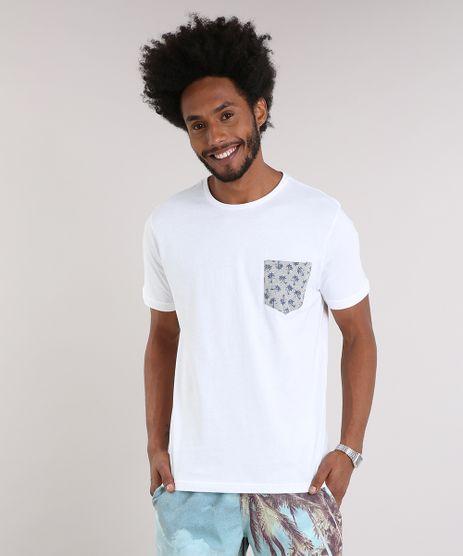 Camiseta-Masculina-com-Bolso-Estampado-Manga-Curta-Gola-Careca-Off-White-9237347-Off_White_1