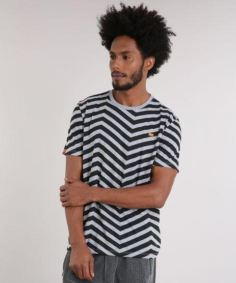 Camiseta-Masculina-LAB-Geometrica-Manga-Curta-Gola-Careca-Cinza-Mescla-9170180-Cinza_Mescla_1
