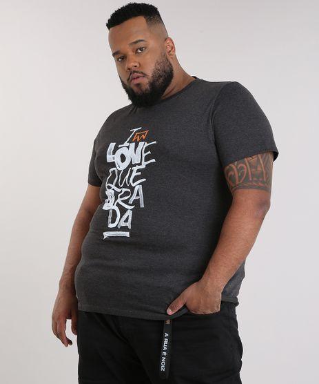 Camiseta-Masculina-LAB-I-Love-Quebrada-Manga-Curta-Gola-Careca-Cinza-Mescla-Escuro-9170184-Cinza_Mescla_Escuro_1