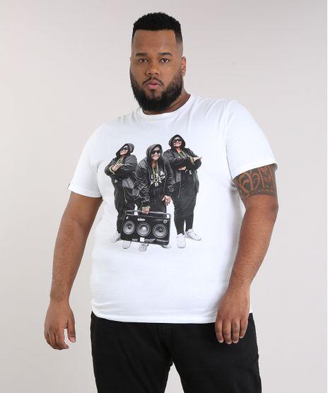 Camiseta-Masculina-LAB-Senhora-Manga-Curta-Gola-Careca- b075b2e4d5e