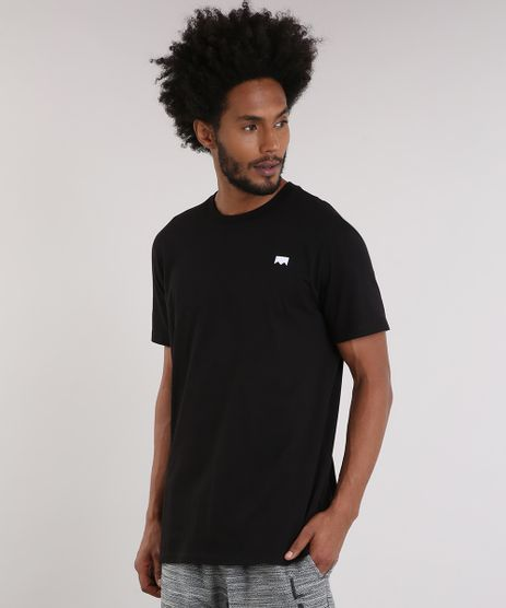 Camiseta-Masculina-LAB-A-Rua-E-Noiz-Manga-Curta-Gola-Careca-Preta-9170178-Preto_1
