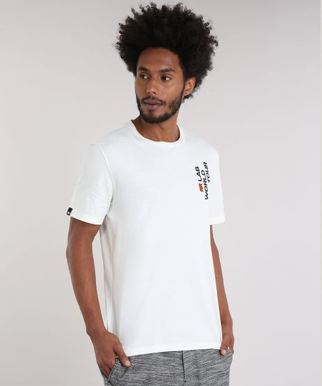 Camiseta-Masculina-LAB-World-Tour-Manga-Curta-Gola-Careca-Off-White-9170183-Off_White_1