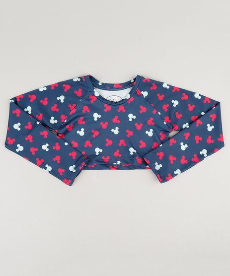 Blusa-de-Praia-Infantil-Cropped-Estampada-Mickey-Manga-Longa-Decote-Redondo-Azul-9037497-Azul_1