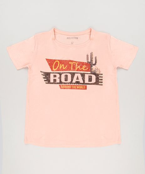 Blusa-Infantil--On-the-Road--Manga-Curta-Decote-Redondo-Rosa-9222495-Rosa_1
