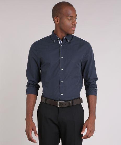 Camisa-Masculina-Comfort-Manga-Longa-Chumbo-9050780-Chumbo_1