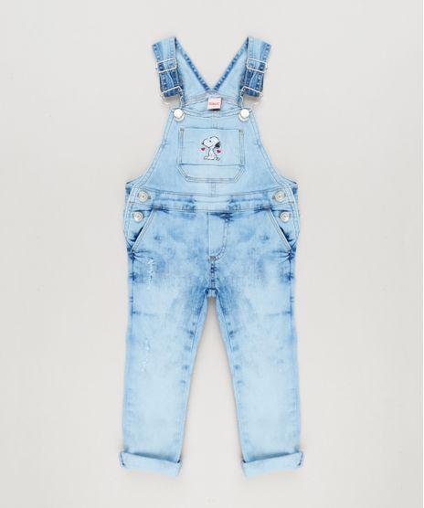 Macacao-Jeans-Infantil-Snoopy-Marmorizado-Azul-Claro-9183198-Azul_Claro_1