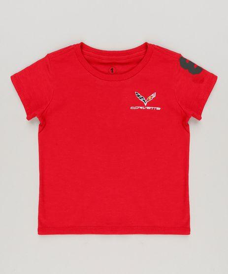 Camiseta-Infantil-Tal-Pai-Tal-Filho-com-Bordado--Corvette--Manga-Curta-Decote-Redondo-Vermelho-9234081-Vermelho_1