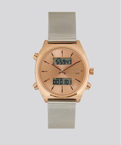 d98a646f560 Relógio Analógico Digital Speedo Feminino - 24868LPEVGS1 Rosê - cea