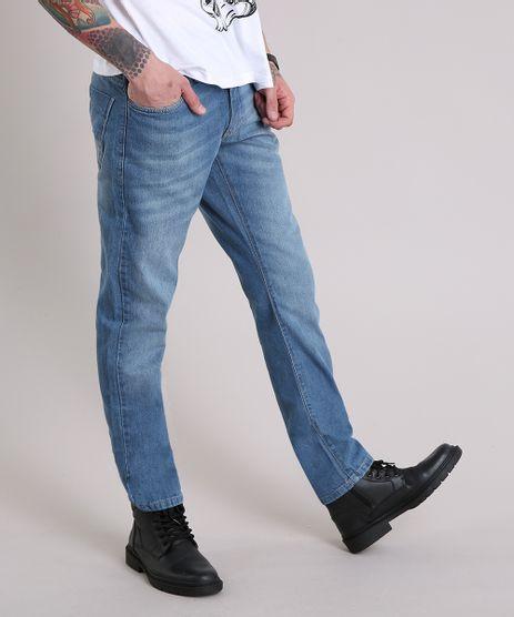 Calca-Jeans-Masculina-Reta-Azul-Medio-8469565-Azul_Medio_1