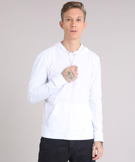 Camiseta-Masculina-Basica-Flame-com-Capuz-Manga-Longa-em-Algodao---Sustentavel-Branca-8286722-Branco_1