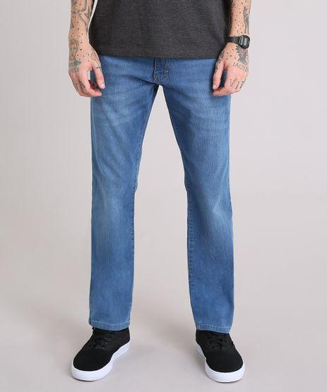f12da2f5e1 Calca-Jeans-Masculina-Reta-Azul-Medio-9158296-Azul Medio 1