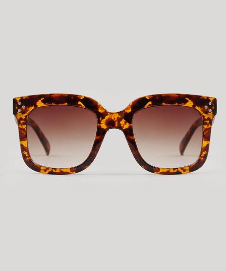 Oculos-de-Sol-Quadrado-Feminino-Oneself-Tartaruga-9239757-Tartaruga_1