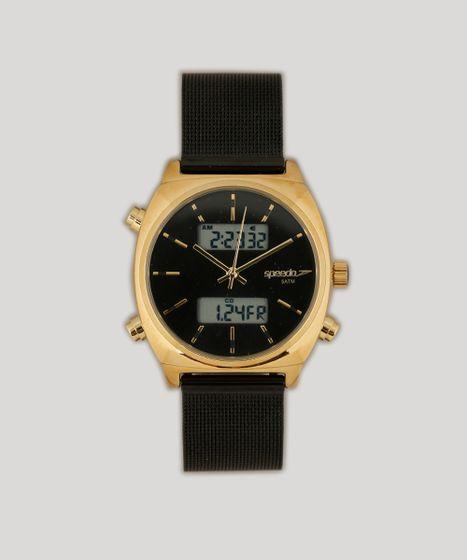 df35ad63f32 Relógio Analógico Digital Speedo Feminino - 24868LPEVHS2 Preto - cea