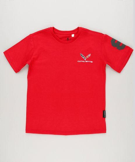 Camiseta-Infantil-Tal-Pai-Tal-Filho-com-Bordado--Corvette--Manga-Curta-Decote-Redondo-Vermelha-9241785-Vermelho_1
