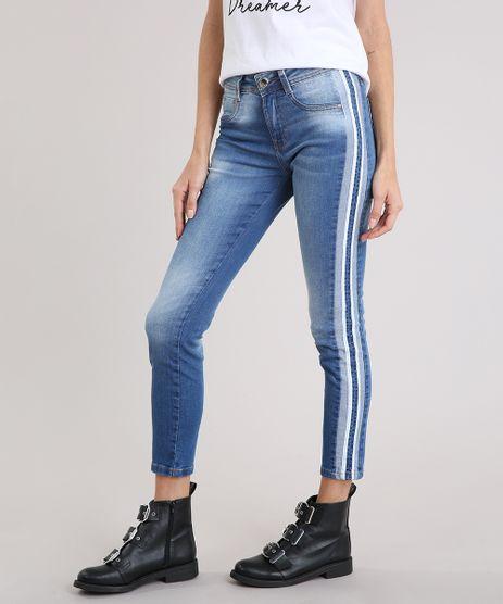 Calca-Jeans-Feminina-Cigarrete-Sawary-com-Faixas-Laterais-Azul-Claro-9240750-Azul_Claro_1