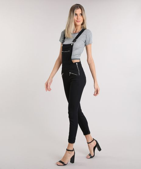 Macacao-Jeans-Feminino-com-Bolsos-Preto-9209343-Preto_1