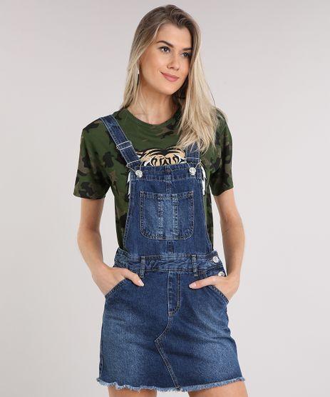 Salopete-Jeans-Feminina-com-Bolsos-Azul-Escuro-9217846-Azul_Escuro_1