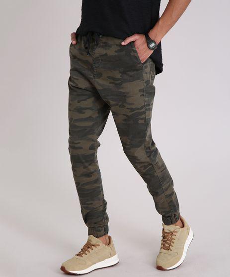 Calca-Masculina-Jogger-Estampada-Camuflada-Verde-Militar-9201952-Verde_Militar_1