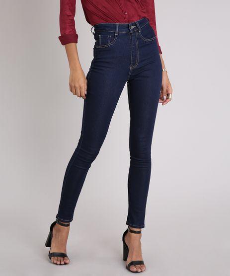 Calca-Jeans-Feminina-Sawary-Super-Lipo-Super-Skinny-Azul-Escuro-9240756-Azul_Escuro_1